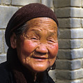 Elderly Chinese Woman by Carl Purcell