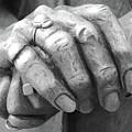 Elderly Hands by Jost Houk