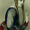 Eleanor Of Aquitaine, Queen Of Henry II by English School