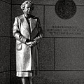 Eleanor Roosevelt Sculpture  by Olivier Le Queinec