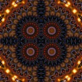 Electric Blue Midway by M E Cieplinski