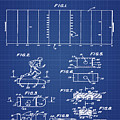 Electric Football Patent 1955 Blueprint by Bill Cannon