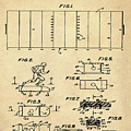 Electric Football Patent 1955 Sepia by Bill Cannon