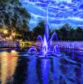 Electric Fountain  by Scott Carruthers