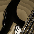 Electric Guitar Fine Art Photograph Art Print Or Picture  4157.0 by M K Miller
