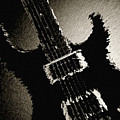 Electric Guitar Fine Art Photograph Art Print Or Picture  4159.0 by M K Miller