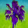 Electric Palm Trees I by Shari Warren