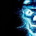 Electric Skull by Shawn Durham