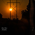 Electric Sunset by James Hennis