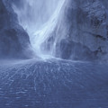 Electric Water - Milford Sound by Sandra Bronstein