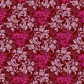 Elegant Red Floral Design by Long Shot