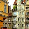 Elegant Vienna Apartment Building by Ian  MacDonald