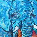 Elephant #3 by Arrin Burgand