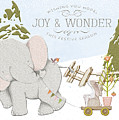 Elephant And Bunny by Pam  Holdsworth