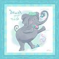 Elephant Bath Time Brush Your Tusk by Shari Warren
