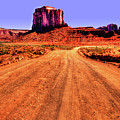 Elephant Butte Monument Valley Navajo Tribal Park by Roger Passman