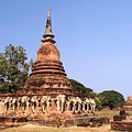Elephant Chedi Historical Place by Sally Weigand