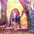 Elephant Delight 1 by Patty Vicknair