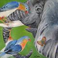 Elephant Fantasy1 by Lian Zhen