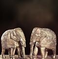 Elephant Figures by Amanda Elwell