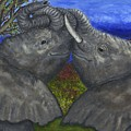 Elephant Hugs by Tanna Lee M Wells