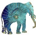 Elephant Maps by Justyna JBJart
