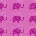 Elephant Pattern by Kathleen Sartoris