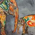 Elephant Play Day by Ella Kaye Dickey