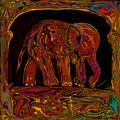 Elephant by Rabi Khan