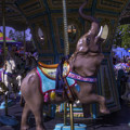 Elephant Ride At The Fair by Garry Gay
