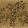 Elephants Three by Tim Hightower