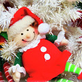 Elf Doll Ornament by Jill Lang