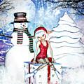 Elfin Winter Holidays by Alicia Hollinger
