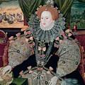 Elizabeth I Armada Portrait by George Gower