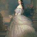Elizabeth Of Bavaria by Franz Xavier Winterhalter