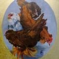 Elizabeth's Chickens by Angelina Whittaker Cook