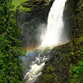 Elk Creek Falls Rainbow by Idaho Scenic Images Linda Lantzy
