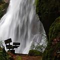 Elk Creek Falls Viewpoint 1 by Ken Dietz