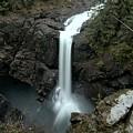 Elk Falls Provincial Park Waterfall by Adam Jewell