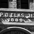 Elks Building 1889 by David Lee Thompson