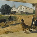 Ella's Hotel Richfield Ohio by Otto Henry Bacher