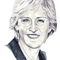 Ellen Degeneres by Murphy Elliott