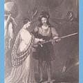 Ellen Douglas And Fitz James by Peter-hugo Mcclure
