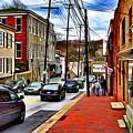 Ellicott City Sidewalk by Stephen Younts