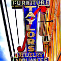 Ellicott City Taylor's Sign by Stephen Younts