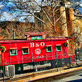 Ellicott City Train And Factory by Stephen Younts