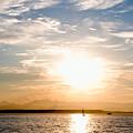 Elliott Bay Sunset by Tom Dowd