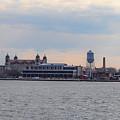 Ellis Island Panorama by Bill Cannon