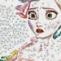 Elsa Art Pearlesqued In Fragments  by Catherine Lott