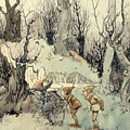 Elves In A Wood by Arthur Rackham